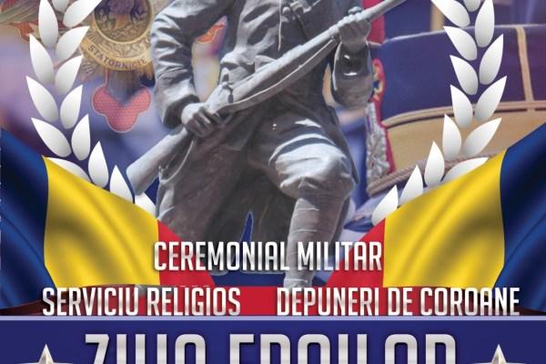 Mediaş: Ceremonialuri militare, religioase și civile dedicate Zilei Eroilor