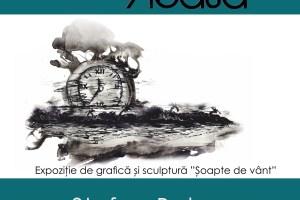 """""""Șoapte de vânt"""" – expoziție de grafică și sculptură"""
