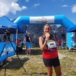 O medieşeancă este vicecampioană mondială la alergare montană