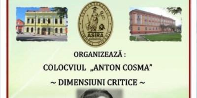 Colocviul Anton Cosma – Dialoguri critice s-a amânat