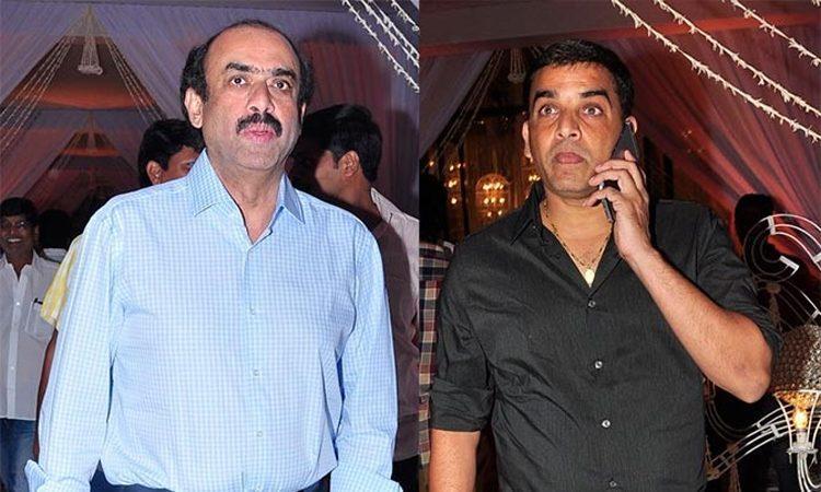 Image result for suresh babu and dil raju