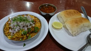 Spicy Misal Pav