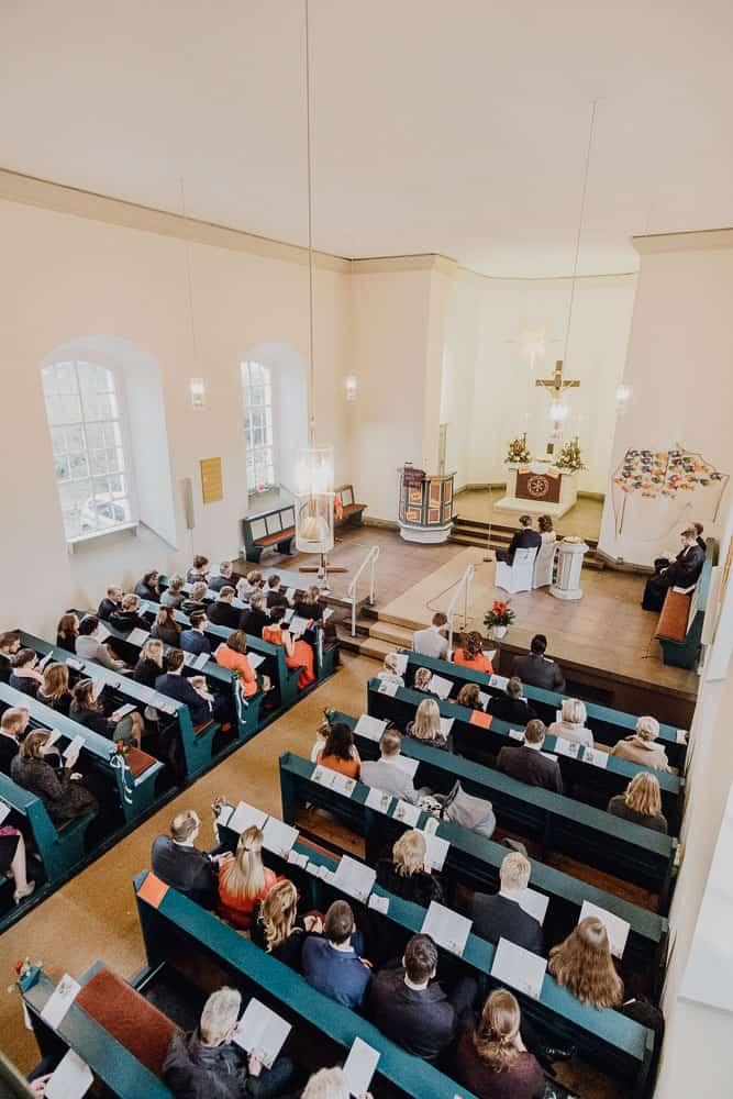 Trauung Hochzeit in Hannover, St. Petri Kirche, Laatzen
