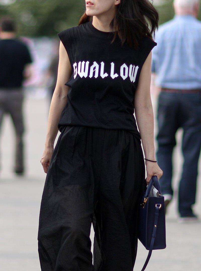 Klasická trička a street styl PARIS FRANCE