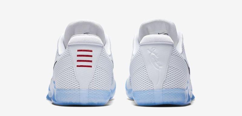 Nové basketbalové tenisky Nike Kobe 11 bílo černé