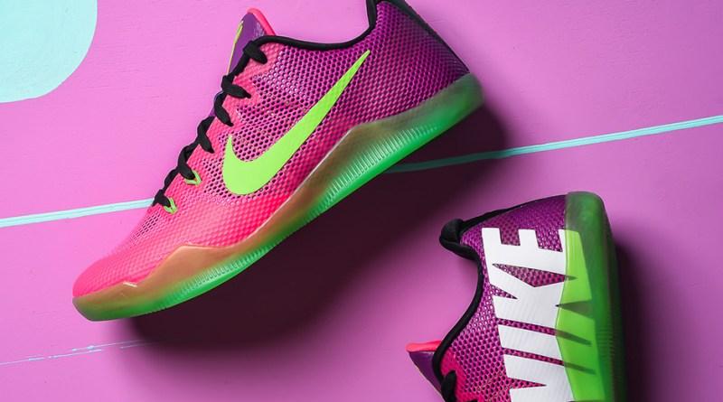 Značka Nike a nové tenisky Kobe 11 Mambacurial