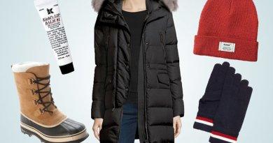 Oblečení na zimní období teplá Bunda a svetr