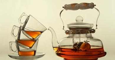 piti čaje a čistění těla a organismu