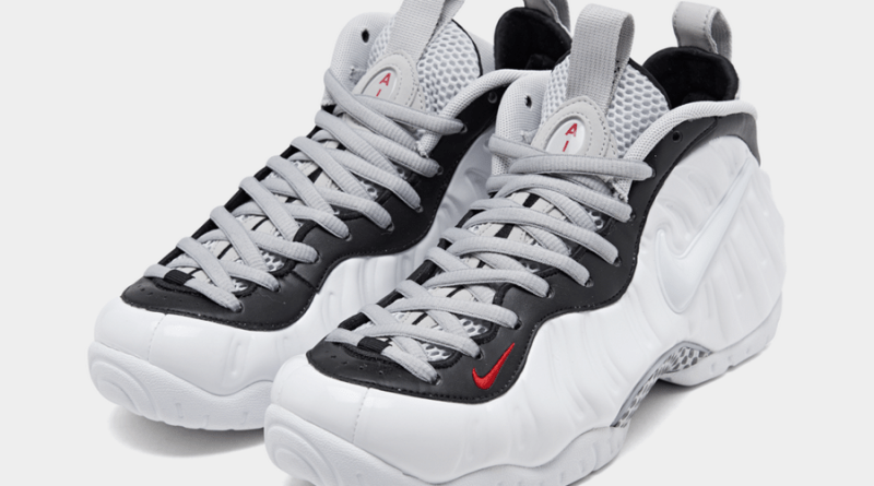 Tenisky Nike Air Foamposite Pro White Black Red
