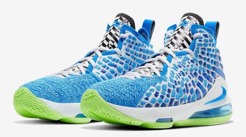 Tenisky Nike LeBron 17 GS Photo Blue