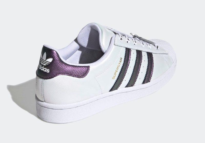 Tenisky adidas Superstar Iridescent Three Stripes