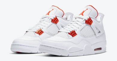 Tenisky Air Jordan 4 Orange Metallic CT8527-118