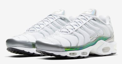 Tenisky Nike Air Max Plus White Metallic CW2646-100