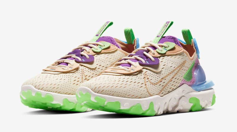 Tenisky Nike React Vision Purple Green CI7523-200
