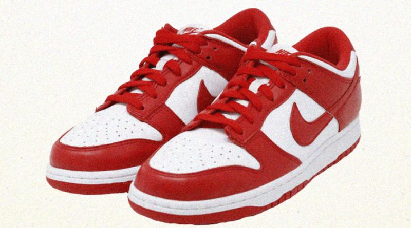 Tenisky Nike Dunk Low SP University Red CU1727-100