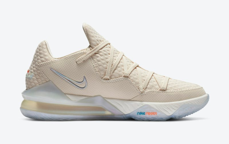 Tenisky Nike LeBron 17 Low Light Cream CD5007-200
