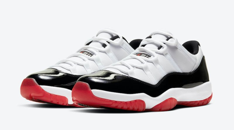 Tenisky Air Jordan 11 Low White Black AV2187-160