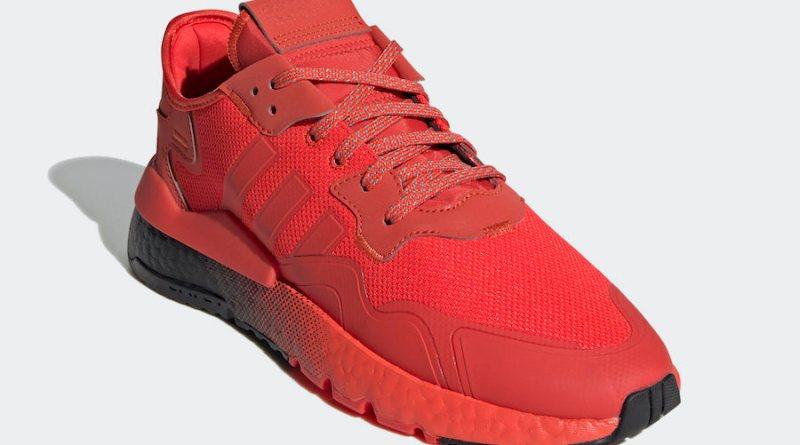 Tenisky adidas Nite Jogger Hi-Res Red EF5415