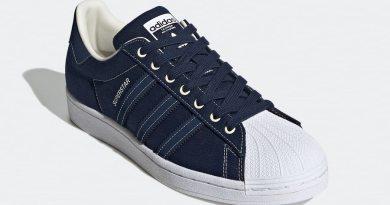 Tenisky adidas Superstar Canvas Blue FW2652