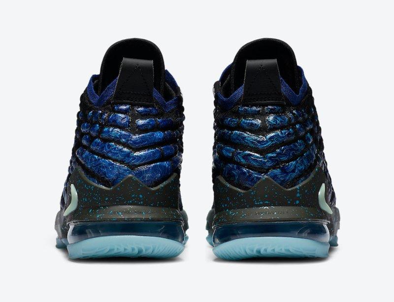 Tenisky Nike LeBron 17 GS Constellations BQ5594-407