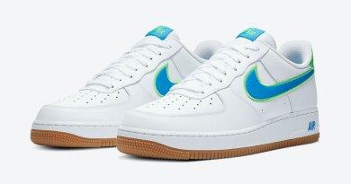 Tenisky Nike Air Force 1 Low White Blue DA4660-100
