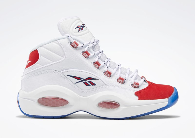 Tenisky Reebok Question Mid OG Red Toe FY1018