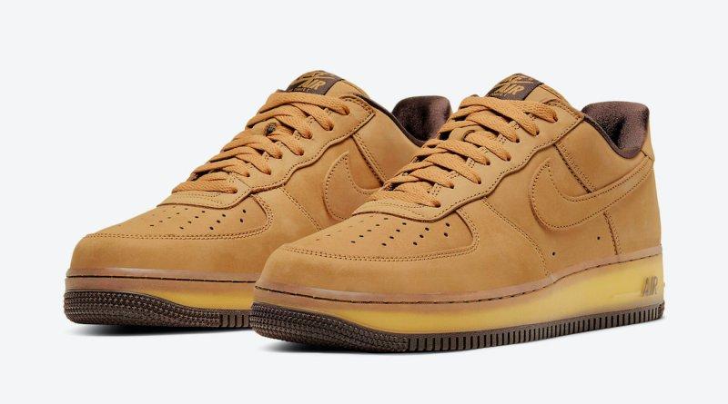 Pánské hnědé tenisky Nike Air Force 1 Low Suede Wheat/Wheat-Dark Mocha DC7504-700 semišové nízké boty a obuv Nike AF1