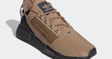 Pánské hnědé tenisky a boty adidas NMD R1 V2 Cardboard/Cardboard-Core Black FY6861 nízké sportovní botasky a obuv adidas