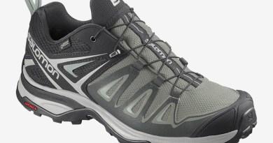 Dámské zelené černé tenisky Salomon X Ultra 3 GTX W Shadow/Lunar Rock/Aqua Gray 411401 turistické outdoorové boty a obuv Salomon