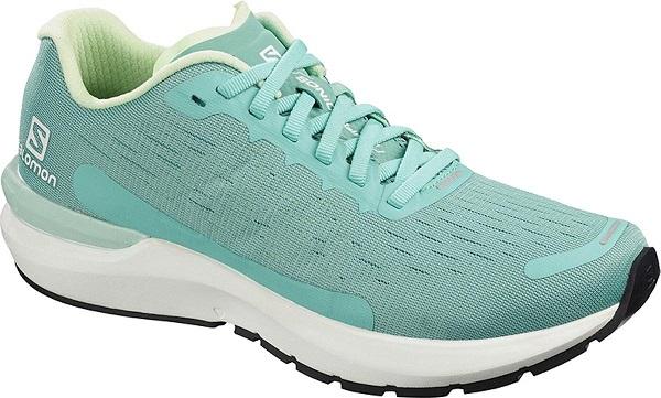 Běžecké dámské boty Salomon Sonic 3 Balance L40984000 zelené