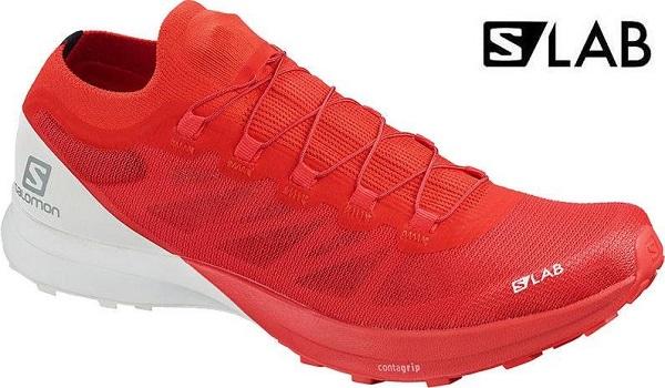 Trailové dámské boty Salomon S-Lab Sense 8 L40751500 červené