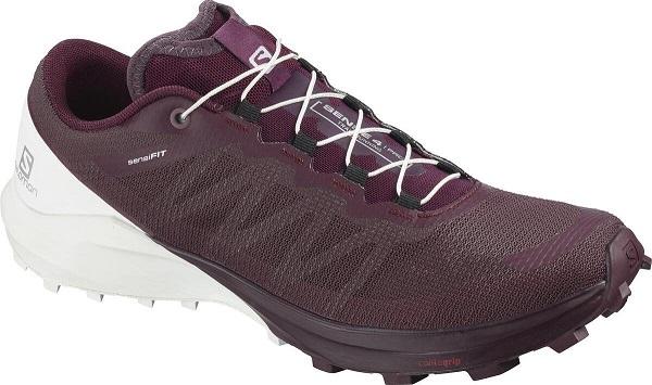 Trailové dámské boty Salomon Sense 4 PRO L40975300 vínové
