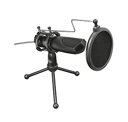 Elektretový stolní USB mikrofon Trust GXT 232 Mantis 22656
