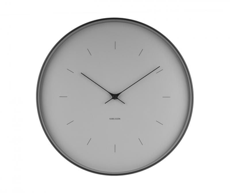 Alba orologio da parete alba al quarzo diametro 30 cm silenzioso grigio. Orologi Da Parete E Appoggio Orologio Da Parete Moderno Karlsson Cassa Nera Quadrante Grigio Cm 37