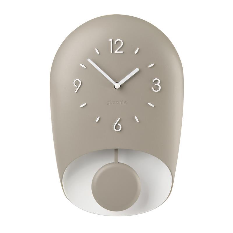 Stai cercando fai da te orologi da muro a prezzi scontati online? Orologio Guzzini Design Moderno Tortora Con Pendolo Bell