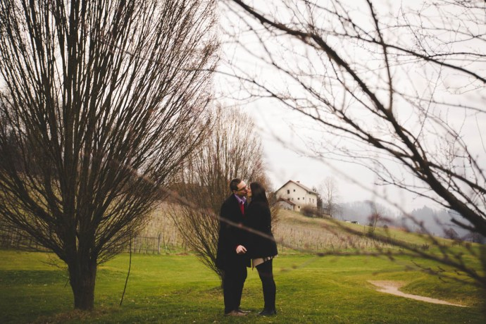 slovenia destination engagement session | mirela bauer photo