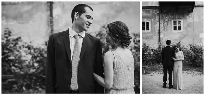 intimate wedding in zagreb mirela bauer photo