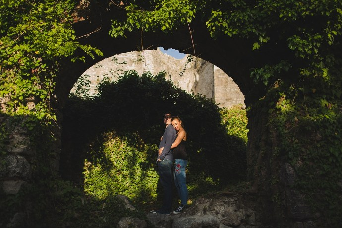 samobor old town engagement session mirela bauer photography the sun is shinning