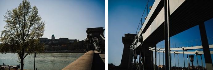 image shows budapest Szechenyi Chain Bridge mirela bauer photo