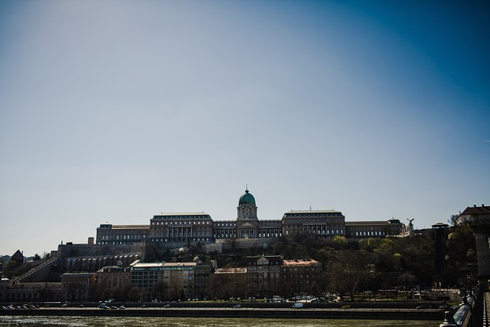 image shows budapest Buda Castle Hill mirela bauer photo