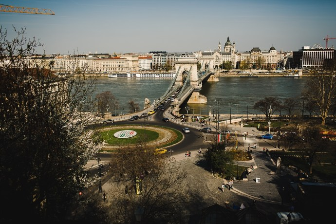 image shows budapest view of the city mirela bauer photo