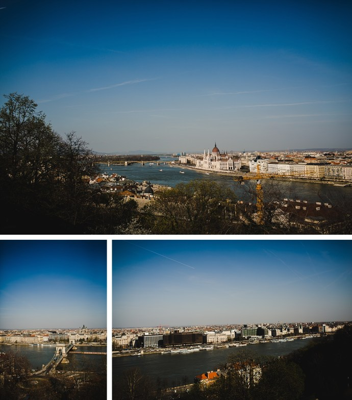 image shows budapest three images of city from buda caastle hill mirela bauer photo