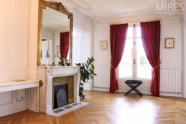 Petit Salon Vide C0432 Mires Paris