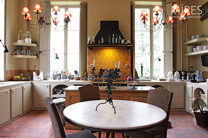 Cuisine Moderne Et Tomette C0014 Mires Paris