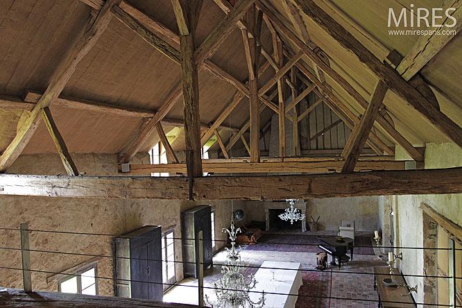 Mezzanine Et Poutres Apparentes C0082 Mires Paris