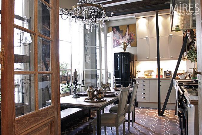 Lustre De Verre Et Cuisine Dco C0092 Mires Paris