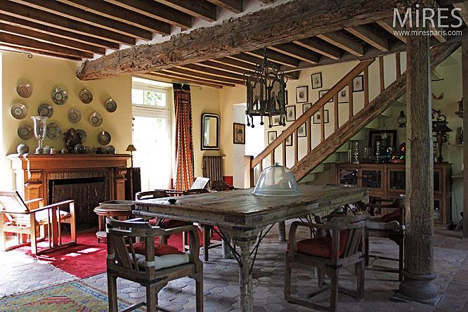 Diner Rustique C0147 Mires Paris