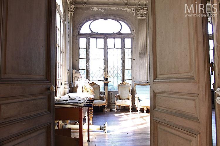 Patine De Maitre Et Miroir Dor C0097 Mires Paris