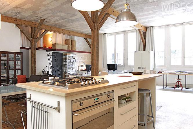 Cuisine Ouverte C0201 Mires Paris