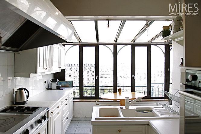 cuisine et baie vitree c0180 mires paris